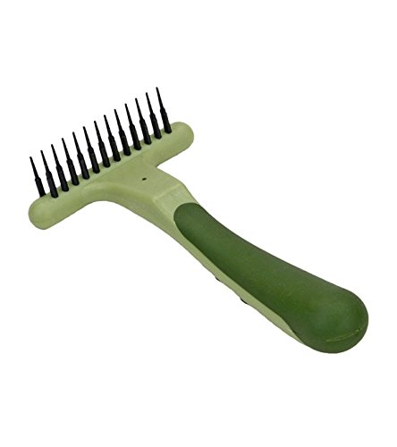 Coastal Pet Products DCPW6122 Safari Double Row Undercoat Dog Rake Coastal Pet Products Safari Brush