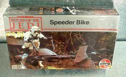 Star Wars Return of the Jedi Speeder Bike Model Kit MPC Ertl