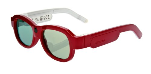 Youniversal Bt/Ir 3D Active Glasses-Red/