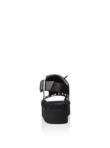 Fornarina PEFOK9504WVDA100 - sándalo Mujer BLACK/POIS
