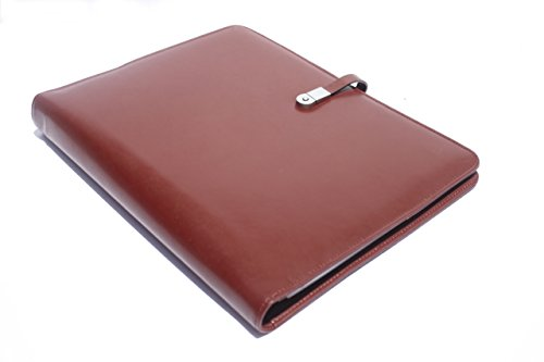 ray-bran-executive-16gb-usb-padfolio-with-led-pen-solar-calculator-3-ring-binder-durable-faux-leather-storage-pockets