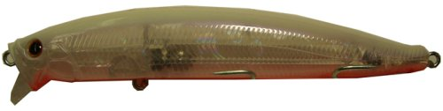 Tackle House Feed Shallow Floating Fishing Lure - Clear HG Pearl/Back/Red Belly, 105 mm/16 g