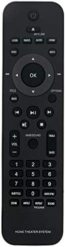 New 996510026446 Change Distant Management match for Philips House Theater System HTS6120 HTS6120/37 Cinema Speaker HTS612037 Soundbar Theatre