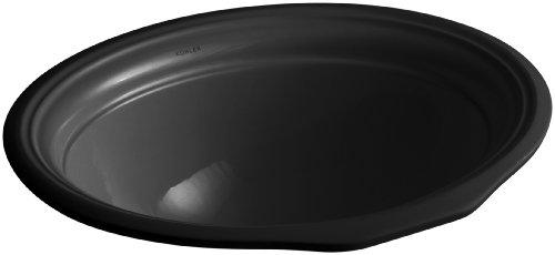 Kohler 2336-7 Vitreous china undermount oval Bathroom Sink, 21.88 x 18 x 9.5 inches, - Bathroom Sink Undermount Devonshire