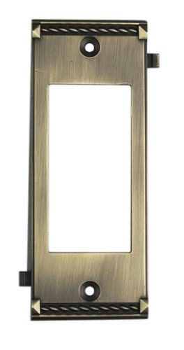 Elk 2505AB Antique Brass Middle Switch (Brass Middle Switchplate)