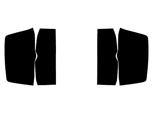 Rtint Tail Light Tint Covers for Chevrolet Silverado 2014-2018 - Blackout Smoke