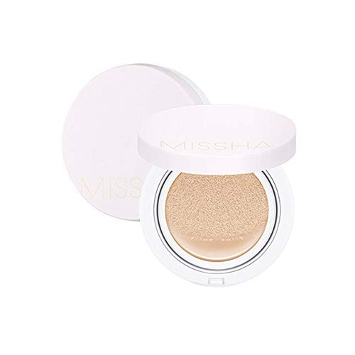 MISSHA M Magic Cushion SPF50+/PA+++ NO.21 (Best Korean Compact Powder)