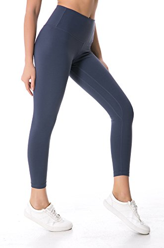 Lohas.Yoga Womens Yoga Pants High Waist w Pocket Tummy Control Workout Leggings