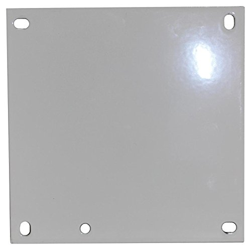 Fibox Enclosures ABP1412 Steel Panel for 14'' x 12'' Enclosure, 10.8'' Width, 12.8'' Length