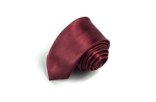 Skinny 2' Necktie Tie (Skinny Men's Tie with Solid Color for Mens Fashion Slim Necktie 2'' (5CM) by ARTNESS)