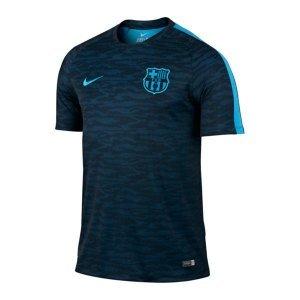 Nike Barcelona Flash Training Top Decept (Black, Light Current Blue) X-Large