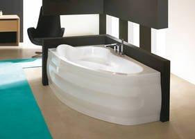 Exclusive Line asimmetriche Vasca da bagno angolare Vasca in ...