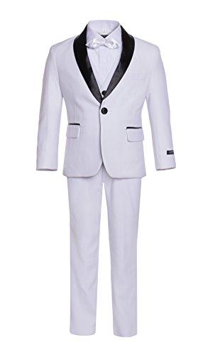 Ferrecci 20 Boys Reno JR White 5pc Tuxedo Set]()
