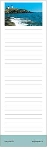 Day Timer Notepads Coastlines - Day-Timer Coastlines Slim Note Pads - Memo Book-Notepad