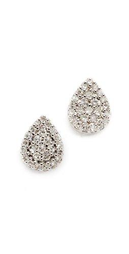 ave Teardrop Stud Earrings (Adina Reyter : Jewelry Earrings)