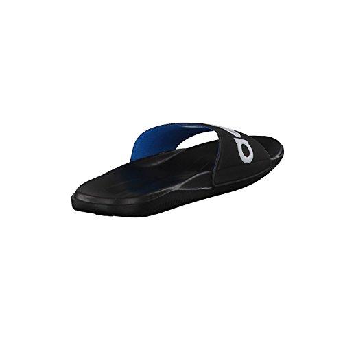 adidas Carozoon LG M, Zapatillas de Deporte Exterior para Hombre, Negro / Blanco / Azul (Negro1 / Runbla / Azusol), 35 EU