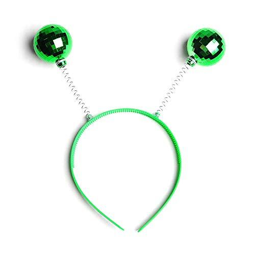 Metallic Disco Ball Bopper Headband - 1-Pack (Green)]()
