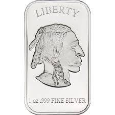 Buffalo Replica 1oz 999 Silver Bar