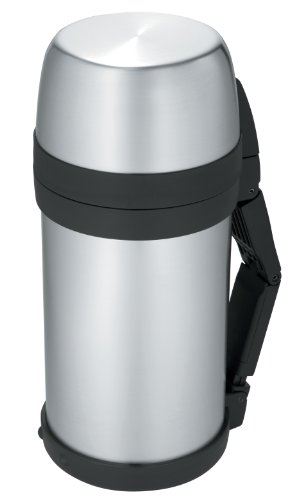 Thermos 48-Ounce Wide Mouth Stainless-Steel Bottle (Discontinued by Manufacturer) by Thermos