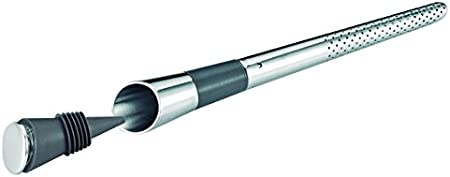 Oxigenador con filtro y tapón
