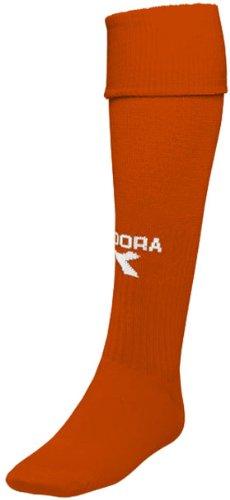 Diadora Men's Squadra Socks,Orange,M