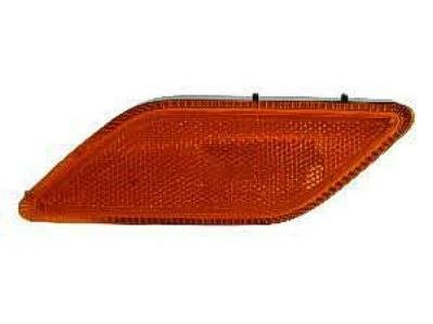 DRIVER SIDE FRONT CORNER LIGHT Mercedes-Benz E350, Mercedes-Benz E550, Mercedes-Benz E63 AMG SIDE MARKER; BUMPER-MOUNTED