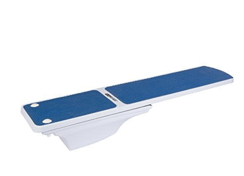 S.R. Smith 68-207-7382B Flyte Deck II Stand with 8' TrueTread Diving Board, Radiant (8' Replacement Diving Boards)