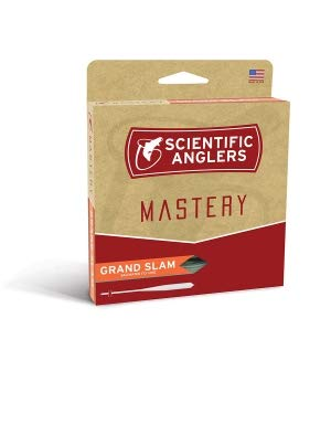 Scientific Anglers Grand Slam Taper,Light Blue/Ivory,WF8F