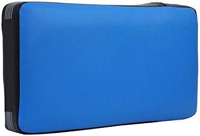パンチングミット ボクシングパッド、空手ムエタイキックボクシングUFC MMAの焦点訓練のためのパームパッドターゲットミットグローブを蹴ります (色 : 青, サイズ : 45*25*10cm)