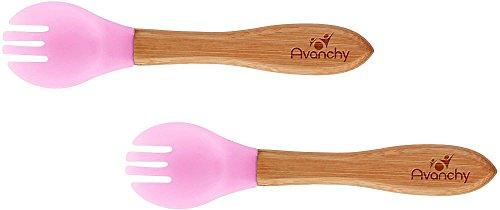 Avanchy Toddler Bamboo Training Forks