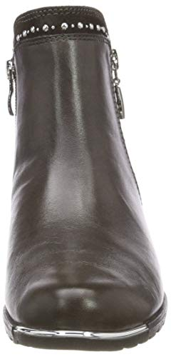 Comb Grey 21 203 Caprice 9 Femme 25311 9 203 Botines dk Gris qzCOwv