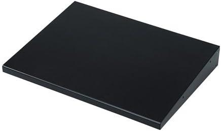 (6個まとめ売り) サンワサプライ 電動昇降液晶・プラズマディスプレイスタンド用棚板 CR-PLNT3BK