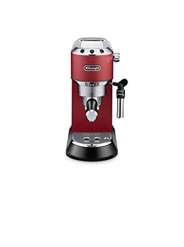 Delonghi EC685.R DEDICA 15-Bar Pump Espresso Machine Coffee Maker, Red, 220 Volts (Not for USA – European Cord)