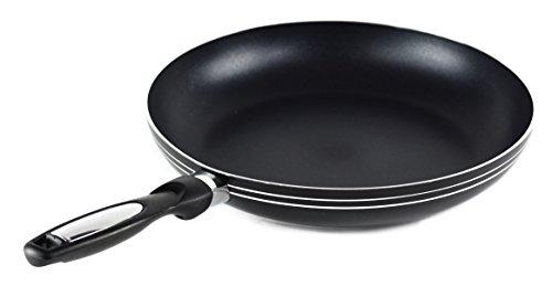 Gourmet Chef Heavy Duty 8 Inch Non Stick Fry Pan, Black