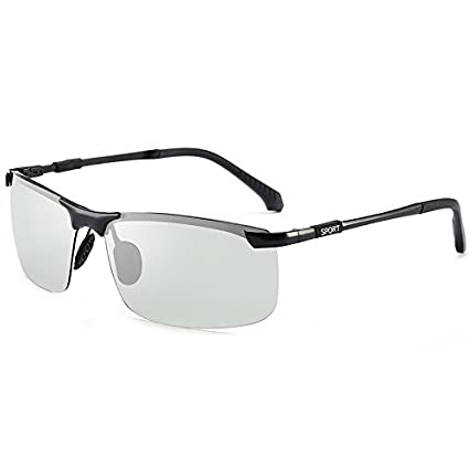 Shishanyun Gafas de Sol polarizadas HD para Hombres Mujeres con Gafas de Sol Inteligentes Chameleon Gafas