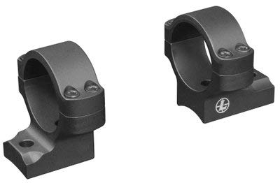 Leupold, Backcountry Scope Mounts Integral Rings, 30mm Diameter, Medium Height, Savage 10-16/110-116 Round Rear, Axis, Matte Black by Leupold
