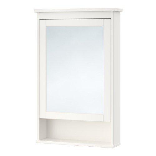 Ikea HEMNES Spiegelschrank mit 1 Tür; in weiß; (63x16x98cm ...