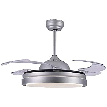 Bella Depot Contemporary Ceiling Fans with light and