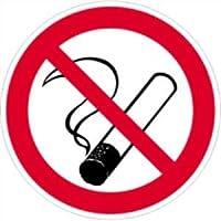 Autocollants interdiction de fumer à 10 cm