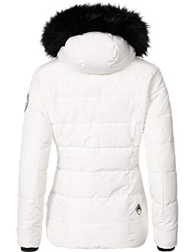 Blanc Large Femme Blouson Large Marikoo Marikoo Blanc Blouson Femme Blouson Marikoo Blanc Large Femme B115Oqw