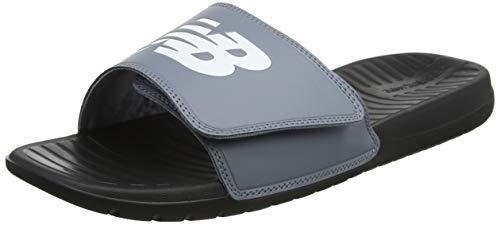 New Balance Unisex-Erwachsene Sdl006v1 Sneaker Grau (Grey/Black)