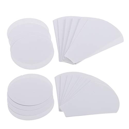 - Homyl 80 Pieces 2 Sizes Flower Blank Paper Quilting Template English Paper Piecing Patchwork Crafts