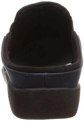Compensées Navy Clarks Blue Femme Sandales vwf5xq64