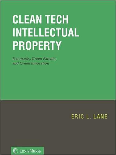 Book Clean Tech Intellectual Property