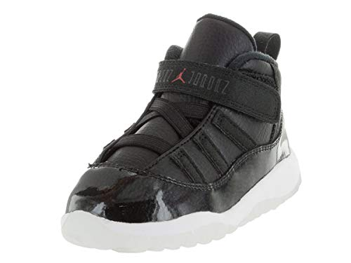Nike Jordan Toddlers Jordan 11 Retro Bt Black/Gym Red/White/Anthracite Basketball Shoe 10 Infants US