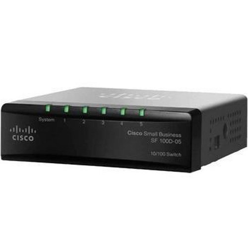 Cisco SF100D-05 5-Port Desktop 10/100 Switch
