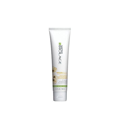 BIOLAGE Smoothproof Leave-In Cream For Frizzy Hair, 5 Fl Oz (Best Shampoo For Static Hair)