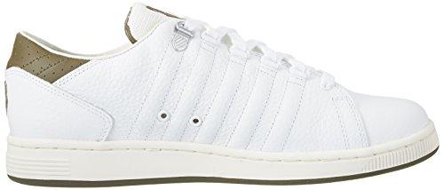Basses III Lozan Swiss Homme TT White Dark Blanc K Olive Sneakers aqX7CCn