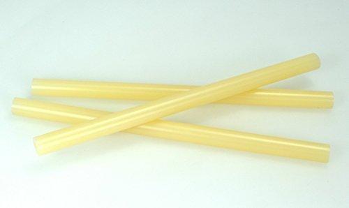 Q-711 Fast Set Packaging Adhesive Hot Melt Glue Sticks - 5/8'' x 10'' - 25 lbs - Tan