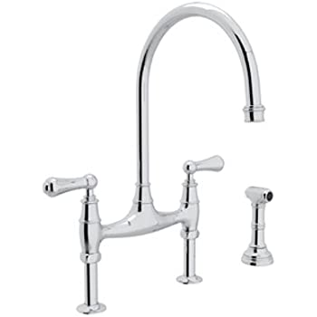 Rohl U 4719l Apc 2 Perrin And Rowe Deck Mount Bridge
